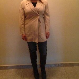 Vintage Khaki Cross Jacket