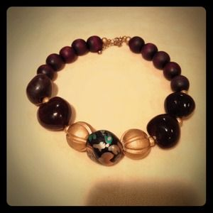Fun bead necklace