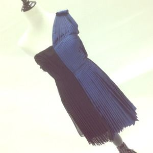 Phillip Lim colorblock pleated dress