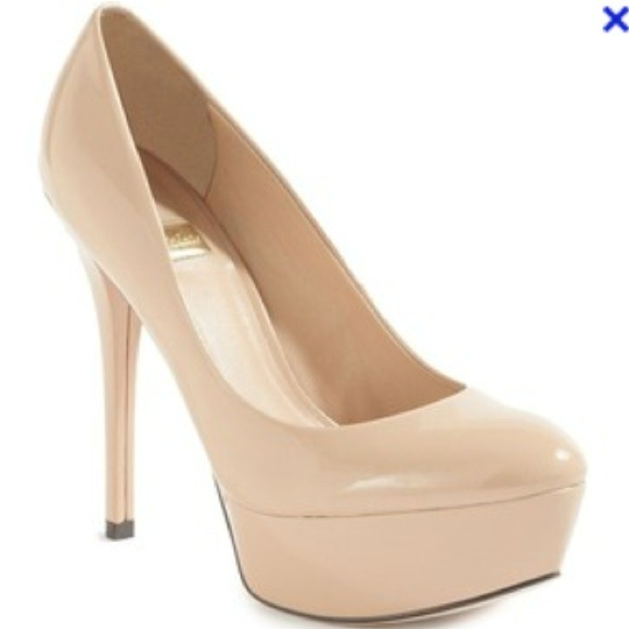 70% off Guess Shoes - Nude patent leather guess Marciano pumps ...