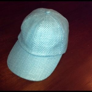 straw Baseball Cap New Never Worn