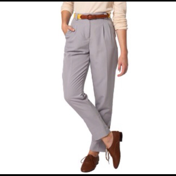 74% off American Apparel Pants - American Apparel High Waisted ...