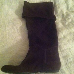 Sam Edelman brown Peter Pan boots