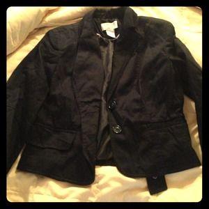 Jackets & Blazers - Worthington 3/4 length black blazer