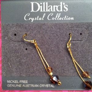 Jewelry - Genuine Austrian crystals earrings