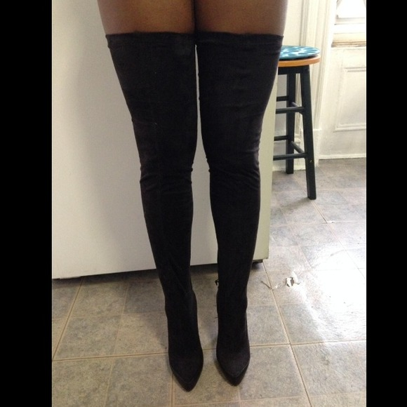 colin stuart sold thigh high boot from shi s closet