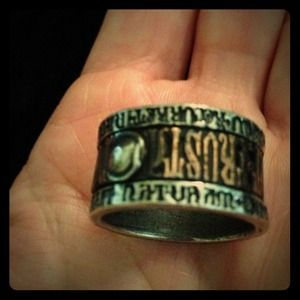 Alchemy Jewelry - Alchemy Ring Q fits 8.5