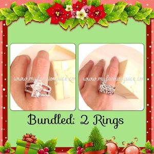 Bundled 2 Clearance Brand new rings