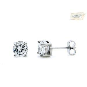 Jewelry - FINAL⬇️❤️ 2 CTW Swarovski crystal sterling silver