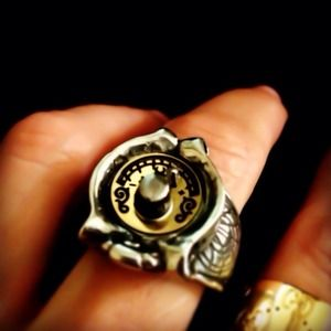 Alchemy Compass/Gender Ring