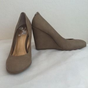 BCBGeneration Shoes - BCBGeneration nude wedges