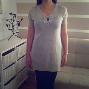 Adorable short sleeved tunic made in Italy 💚💭❤