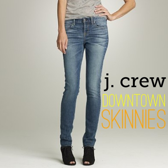 J. Crew - BUNDLED! 💚 J. Crew Downtown Skinny Jeans size 2 from ...