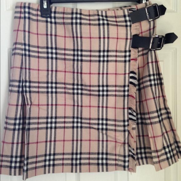 89% off Burberry Dresses & Skirts - BURBERRY Nova Check plaid ...