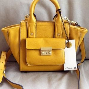 🔴SOLD🔴Mini yellow phillip lim tote