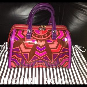 Henri Bendel  Handbags - Henri Bendel Chevron handbag, not available nstore