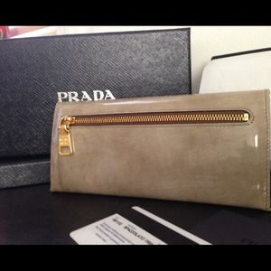 Prada Bags - 🚫SOLD🚫Authentic Prada Spazz marble wallet clutch