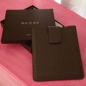 Authentic Gucci IPad Case