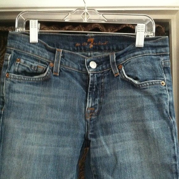 7 for all Mankind Denim - Seven 7 For All Mankind Boot Cut Jeans 26 3