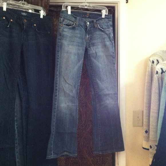 7 for all Mankind Denim - Seven 7 For All Mankind Boot Cut Jeans 26 4