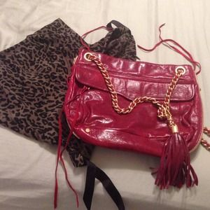 Rebecca Minkoff with dust bag