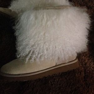 Ugg Boots With Mongolian Sheep Wool And
