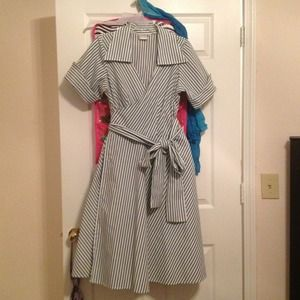 Jibri Dresses & Skirts - Price reduced HOST PICK Jibri Plus Wrap Dress NWOT
