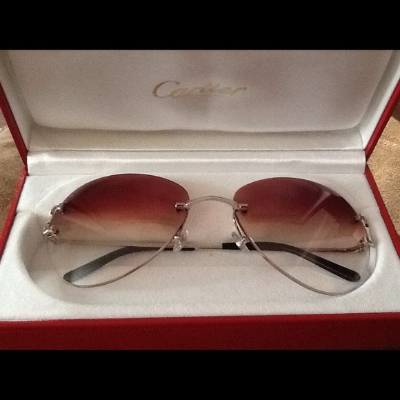 40fc68704340 Authentic Cartier Glasses