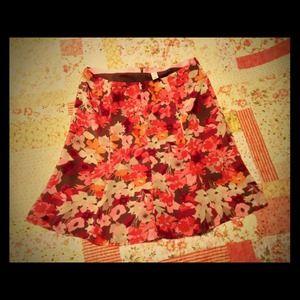 Flirty Floral Skirt