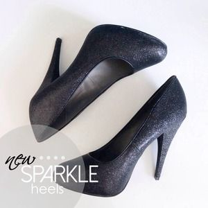 reserved | new black heels