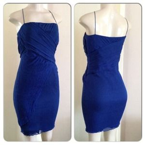 Zara Little Blue Dress