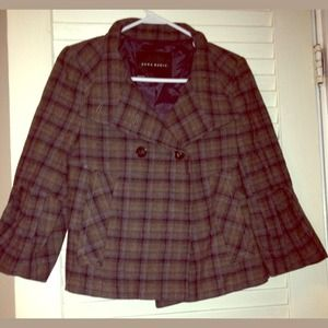 Zara Jackets & Blazers - Zara Plaid coat