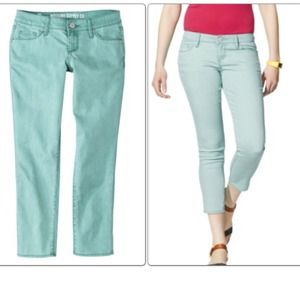 Mossimo Denim - Skinny cropped pants. Size 11. NWT. Junior size.