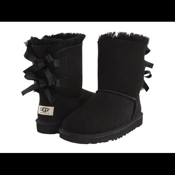 db949137ad2 UGG Shoes | On Hold Bailey Bow Boots Black S | Poshmark