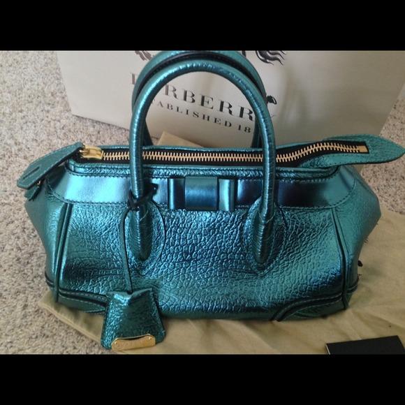 27222bd92317 Burberry Prorsum  Metallic blue