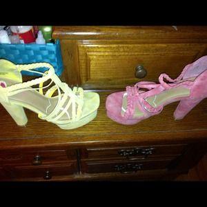 Shoes - SHOE BUNDLE DEAL EACH PAIR WORN ONCE 👌