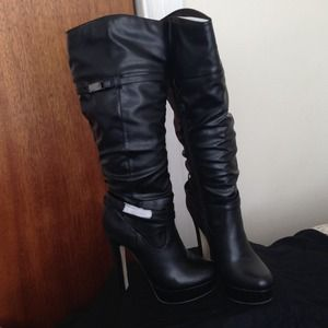 Boots - Sexy Tall Leather Boots