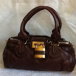 Chloe leather classic handbag