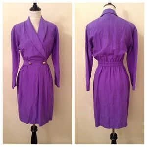 1/25 HOST PICKVintage Purple Dress