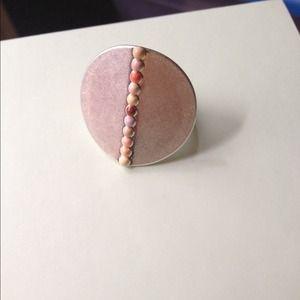 Jewelmint Jewelry - Jewelmint Midas Silver Touch Ring Size 6