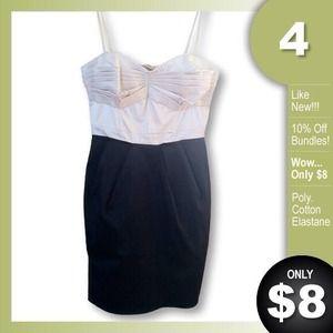 Ivory & Black Dress by H&M