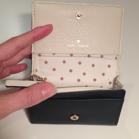 kate spade mini wallet with keychain