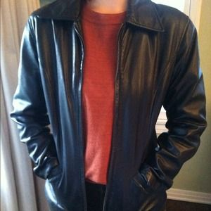Jackets & Blazers - Vintage Biker leather jacket
