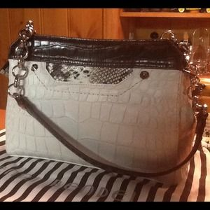 Henri Bendel Croc leather shoulder bag (purse)