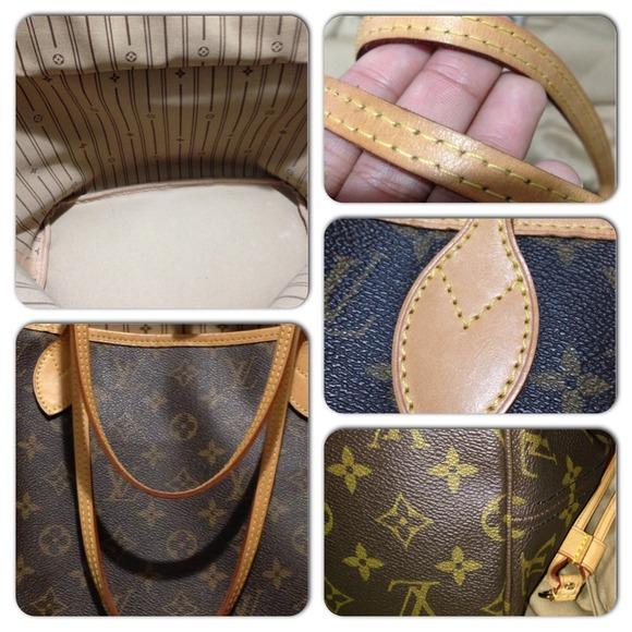 708f082b049c ... authentic louis vuitton monogram neverfull mm .