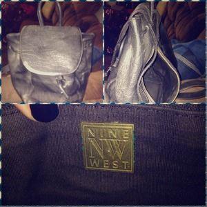 Nine West Handbags - Leather Backpack