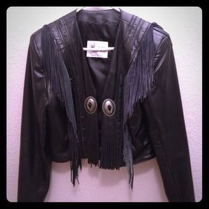 💥💥REDUCED💥💥Leather Western Jacket
