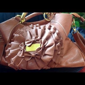 Valentino bag brown leather