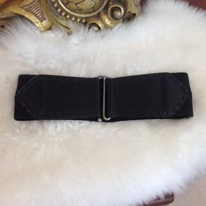 Stretch Waist Leather Belt