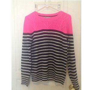 Sweaters - Gap pop of neon stripped sweater